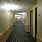 Hallways clean, well lit