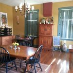  Inside the main house. Breakfast nook