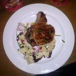 Pork Rib Eye & Potato Salad - $6