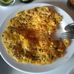 Thai Omelette, also excellent taste & Value