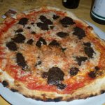                    Pizza al tartufo