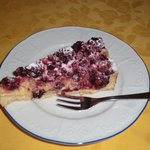                    Torta ai frutti di bosco