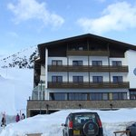 Hotel right next to the chairlift