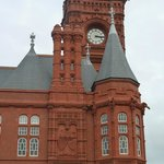 Pierhead Building Cardiff - Chimneys & Clock Town
