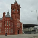 Pierhead Building Clock Tower - Cardiff