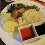                    Nasi Ayam M.S Garden Sent To Room