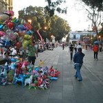 Zocalo is an easy walk