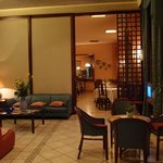  The lobby and dining area