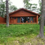 View of Dream Cottage #27 Deck from Road