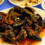 Fresh Mussels Cooked to Order