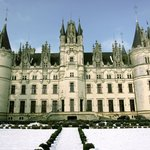 Chateau de Challain in the winter