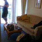 Lounge looking at balcony