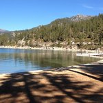                                      Lake Tahoe in November.