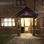  Always a welcoming sight no matter what the hour, a Premier Inn front door!