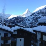                    view of Matterhorn from the Apartment