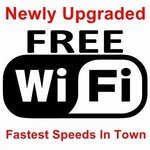 Free WiFi and Wired Internet