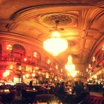 The amazing dining room, packed with history