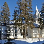 Beautiful church at Tamarack Resort