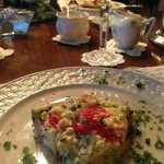                    Light &amp; Tasty Vegetable Omelet with Feta Cheese