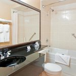 Our clean, modern and spacious bathrooms