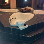                                      Honeymoon suite Tub