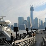 The ferry to Manhattan