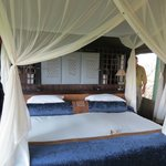 Our room at Duba overlooking the Okavango