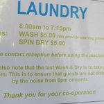                    Laundry prices