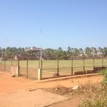 the soccer pitch at Alor