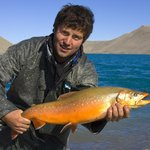 Fishing for Arctic char