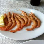  Gambas a la plancha - grilled prawns