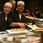 Shino's chefs in action...