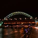  Tyne Bridge and Quayside by Night