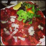                    beef carpaccio