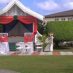 Wedding stand Beautiful