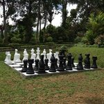 chess is an outdoor game here