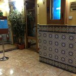I loved the tiles - this is near the restaurant entrance