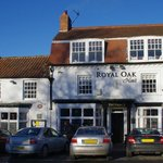 The Royal Oak from the green