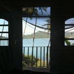 View from the bed of hut #106 Neptune Point 2