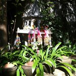                    Shrine in garden