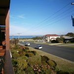 Apollo Bay view from Balcony room 16
