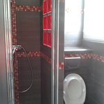 bathroom small but nicely renovated