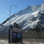  Franks Slide en route to Fernie
