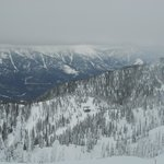 View from the top of Fernie Alpine Resort