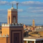The center of Marrakech