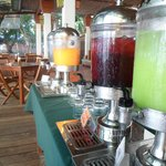 Breakfast Juice Buffet!