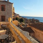                    This is what winter looks like in Monemvasia