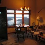                    Mississippi River from dining table in cottage R1