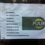                    Beware of Erratic Opening Hours!