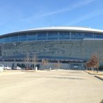 Cowboys stadium in Arlington not too bad of a drive